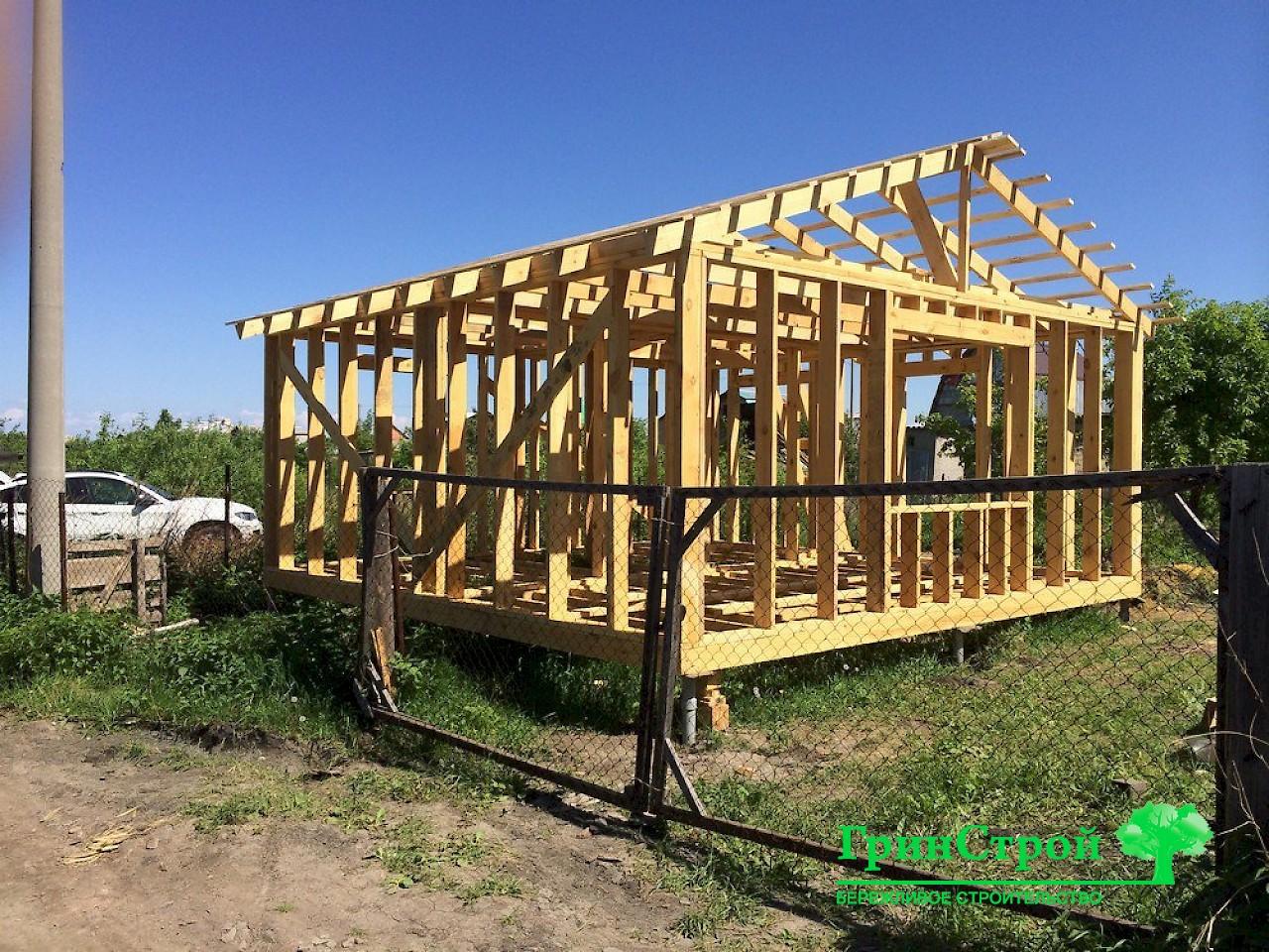 Каркасный дом 5х6 проект своими руками 10
